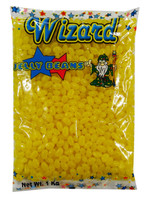 Wizard Mini Jelly Beans - Yellow with Banana Flavour, by Wizard,  and more Confectionery at The Professors Online Lolly Shop. (Image Number :8462)