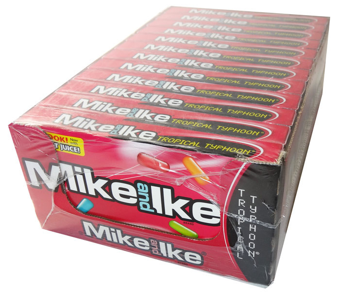 Mike and Ike - Tropical Typhoon, by Mike and Ike,  and more Confectionery at The Professors Online Lolly Shop. (Image Number :5838)
