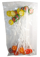 Long Stick Fruit Lollipops and more Confectionery at The Professors Online Lolly Shop. (Image Number :5890)