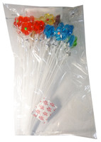 Long Stick Flower Lollipops and more Confectionery at The Professors Online Lolly Shop. (Image Number :5893)