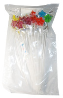 Long Stick Star Lollipops and more Confectionery at The Professors Online Lolly Shop. (Image Number :5896)
