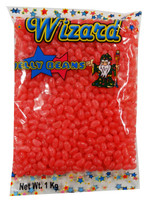 Wizard Mini Jelly Beans - Light Pink with Peach Flavour, by Wizard,  and more Confectionery at The Professors Online Lolly Shop. (Image Number :8463)