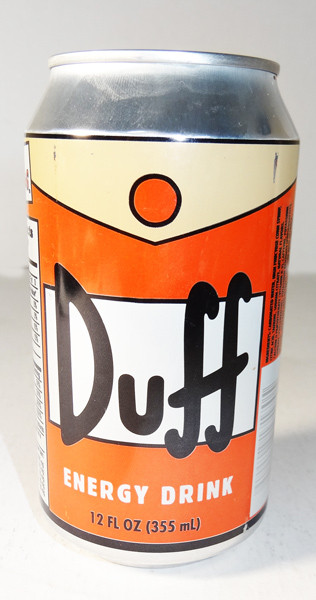 The Simpsons Duff Energy Drink and more Beverages at The Professors Online Lolly Shop. (Image Number :5897)