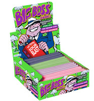 Big Boss Sour Candy Sticks, by Fyna Foods,  and more Confectionery at The Professors Online Lolly Shop. (Image Number :6191)