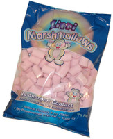 Zippi Marshmallows - Pink, by Zippi,  and more Confectionery at The Professors Online Lolly Shop. (Image Number :6267)