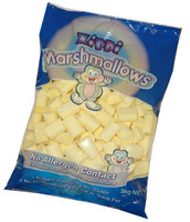 Zippi Marshmallows - Yellow (1kg bag)