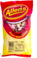 Allens Milk Bottle Mania (1.1kg bag)