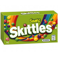 Skittles Sours, by Mars,  and more Confectionery at The Professors Online Lolly Shop. (Image Number :6583)