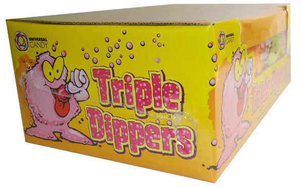 Triple Dipper, by Universal Candy,  and more Confectionery at The Professors Online Lolly Shop. (Image Number :6272)