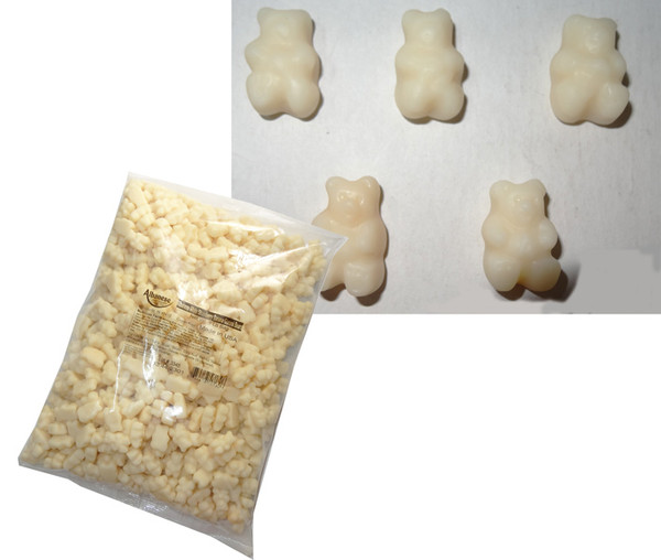 Bulk Gummi Bears Strawberry Banana, by Albanese Confectionery/Other,  and more Confectionery at The Professors Online Lolly Shop. (Image Number :6322)