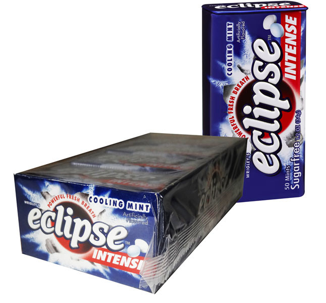 Eclipse Cooling Mint Intense, by Wrigley,  and more Confectionery at The Professors Online Lolly Shop. (Image Number :6502)
