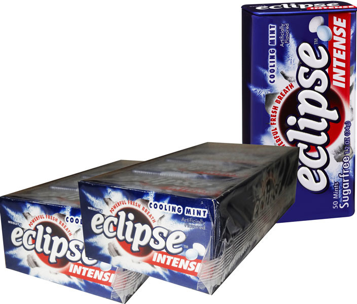 Eclipse Cooling Mint Intense, by Wrigley,  and more Confectionery at The Professors Online Lolly Shop. (Image Number :6501)