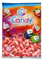 Gummi Triple Hearts and more Confectionery at The Professors Online Lolly Shop. (Image Number :6312)