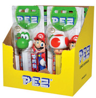 Pez Candy Dispensers - Super Mario, by Pez,  and more Confectionery at The Professors Online Lolly Shop. (Image Number :6965)