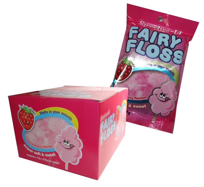 Sweetworld Fairy Floss, by Sweetworld/Universal Candy,  and more Confectionery at The Professors Online Lolly Shop. (Image Number :6488)