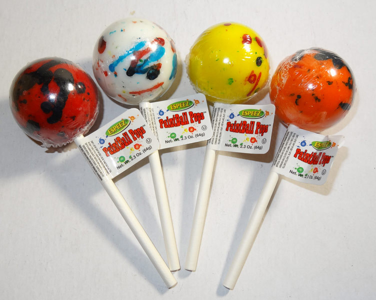Giant Paintball Pops, by Other,  and more Confectionery at The Professors Online Lolly Shop. (Image Number :6481)