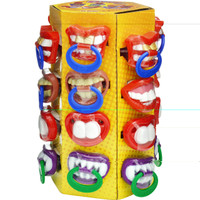 Bpop Crazy Teeth Pacifiers, by Candy Brokers,  and more Confectionery at The Professors Online Lolly Shop. (Image Number :6462)