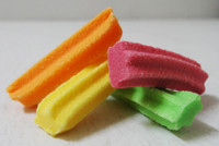 Mini Fruit Sticks, by Fyna Foods,  and more Confectionery at The Professors Online Lolly Shop. (Image Number :6571)