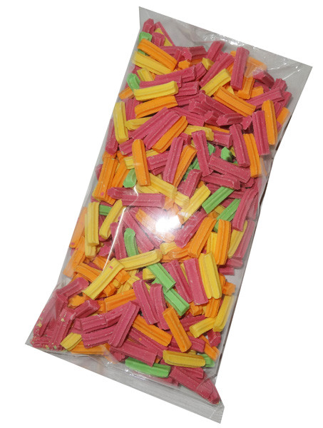 Mini Fruit Sticks, by Fyna Foods,  and more Confectionery at The Professors Online Lolly Shop. (Image Number :6572)