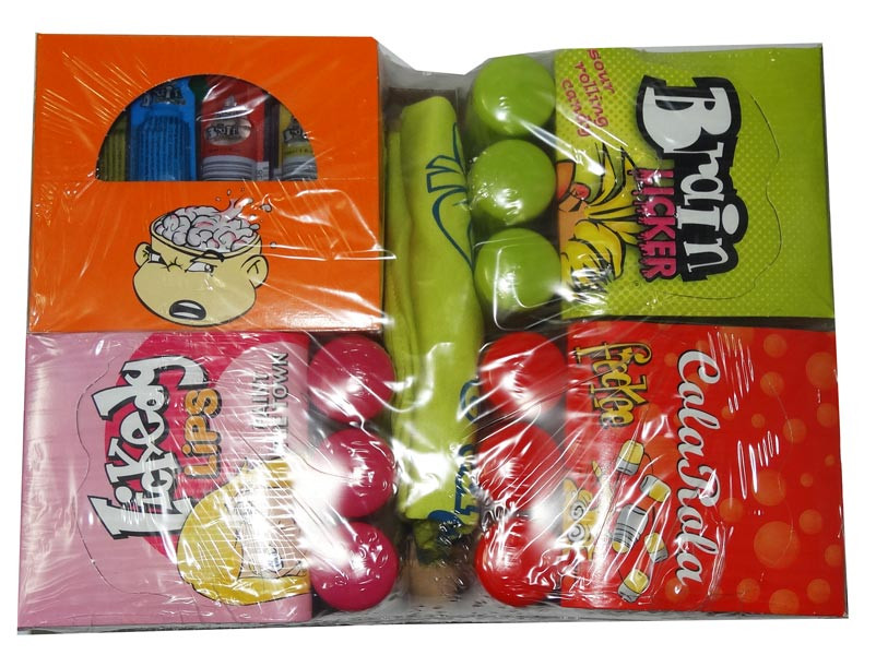 Brain Licker Mega Deal - 4 Pack Plus T-shirt, by Candy Brokers,  and more Confectionery at The Professors Online Lolly Shop. (Image Number :6670)