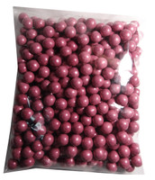 Shimmer Choc Balls - Pink Magenta, by Confectionery House,  and more Confectionery at The Professors Online Lolly Shop. (Image Number :7440)
