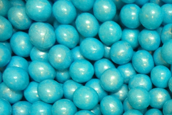 Shimmer Choc Balls - Blue, by Confectionery House,  and more Confectionery at The Professors Online Lolly Shop. (Image Number :9989)