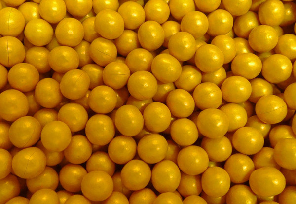 Shimmer Choc Balls - Gold, by Confectionery House,  and more Confectionery at The Professors Online Lolly Shop. (Image Number :9988)