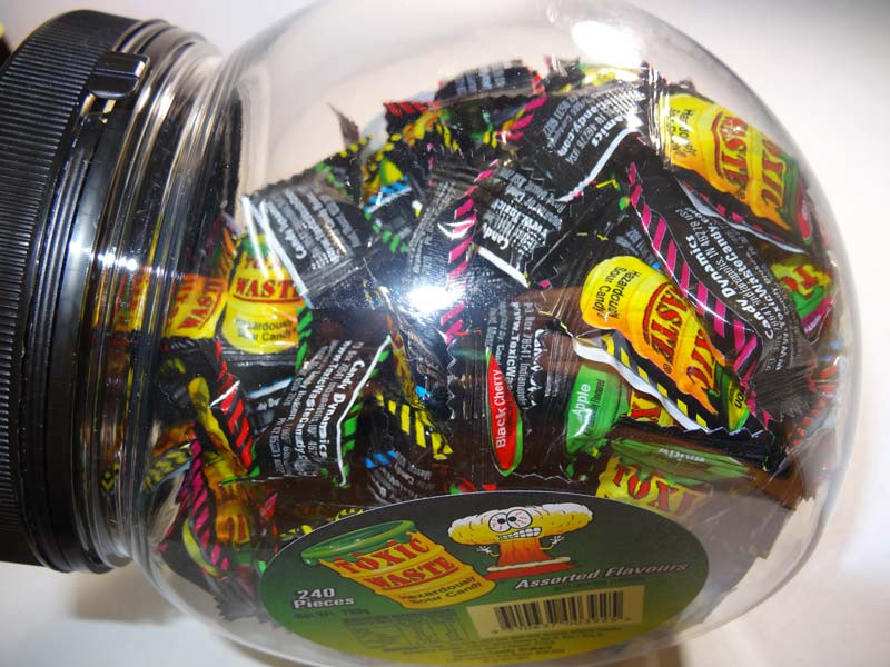 Toxic Waste Tub, by Candy Brokers,  and more Confectionery at The Professors Online Lolly Shop. (Image Number :6651)