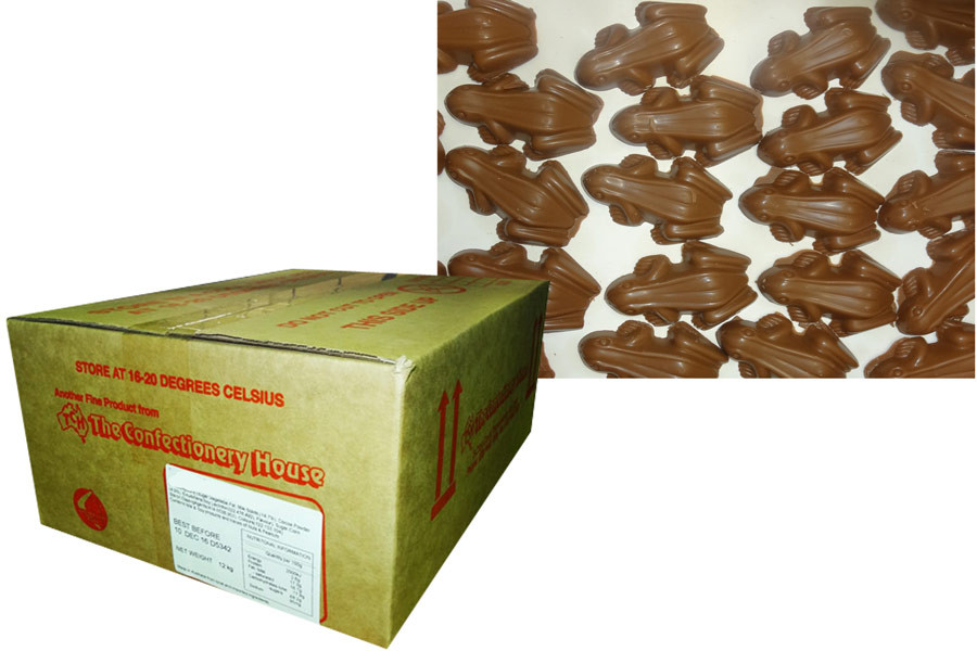 Choc Frogs, by Everfresh Confectionery/Other,  and more Confectionery at The Professors Online Lolly Shop. (Image Number :9650)