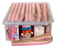 TNT Sour Straps Ice Cream, by TNT,  and more Confectionery at The Professors Online Lolly Shop. (Image Number :6643)