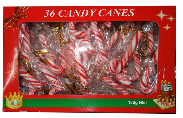 Candy Canes, by Lolliland,  and more Confectionery at The Professors Online Lolly Shop. (Image Number :6862)