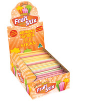 Big Boss Mighty Fruit Stix, by Fyna Foods,  and more Confectionery at The Professors Online Lolly Shop. (Image Number :6792)