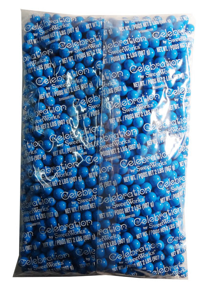 Sixlets - Blue, by Sixlets,  and more Confectionery at The Professors Online Lolly Shop. (Image Number :7926)