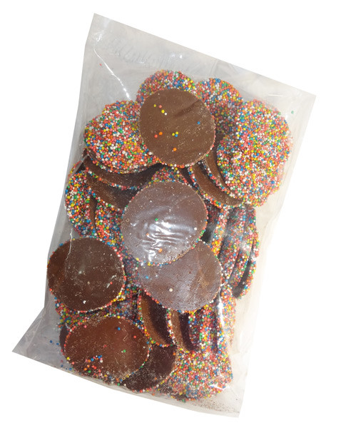 Large Choc Speckles, by Everfresh Confectionery/Other,  and more Confectionery at The Professors Online Lolly Shop. (Image Number :7097)