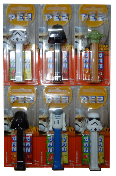 Pez Candy Dispensers - Star Wars, by Pez,  and more Confectionery at The Professors Online Lolly Shop. (Image Number :7509)