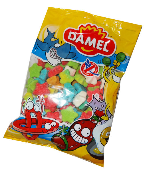 Damel Sea Stars, by Damel,  and more Confectionery at The Professors Online Lolly Shop. (Image Number :6940)