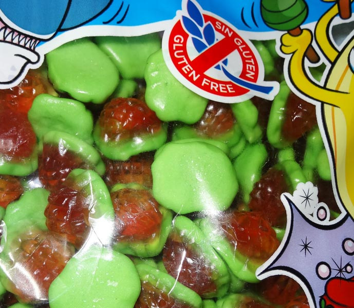 Damel Jelly Filled Strawberries, by Damel,  and more Confectionery at The Professors Online Lolly Shop. (Image Number :6939)