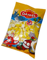 Damel Lemon Pufflettes, by Damel,  and more Confectionery at The Professors Online Lolly Shop. (Image Number :6936)
