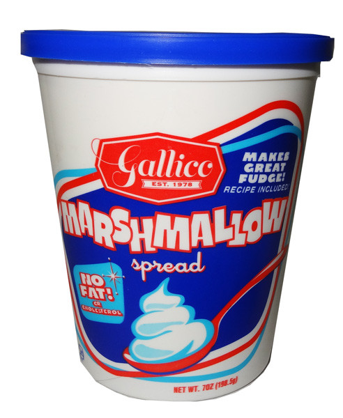 Gallico Marshallow Spread, by Other,  and more Confectionery at The Professors Online Lolly Shop. (Image Number :6959)