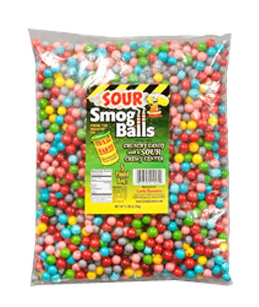Sour Smog Balls, by Candy Brokers,  and more Confectionery at The Professors Online Lolly Shop. (Image Number :7987)