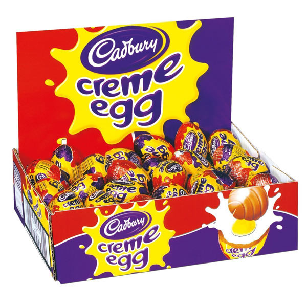 Cadbury Creme Eggs, by Cadbury,  and more Confectionery at The Professors Online Lolly Shop. (Image Number :7028)