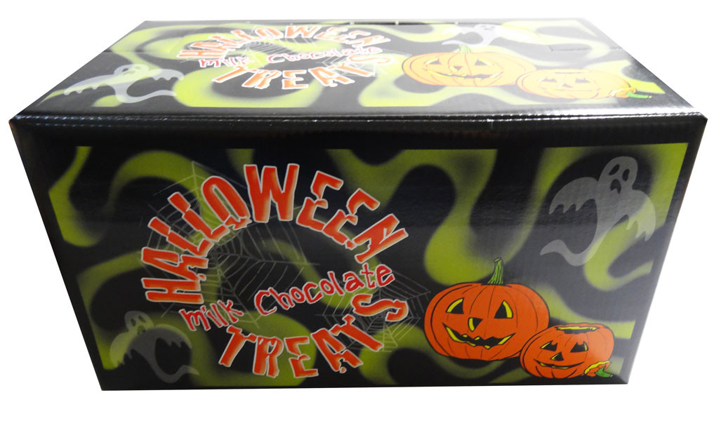 Assorted Halloween Milk Chocolate Balls, by Jacquot,  and more Confectionery at The Professors Online Lolly Shop. (Image Number :8011)