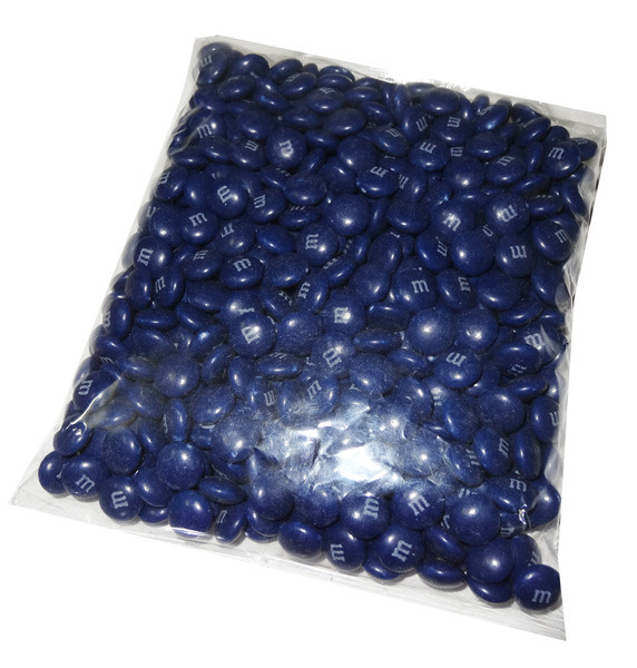 Single Colour M&M s - Dark Blue, by Mars,  and more Confectionery at The Professors Online Lolly Shop. (Image Number :7703)