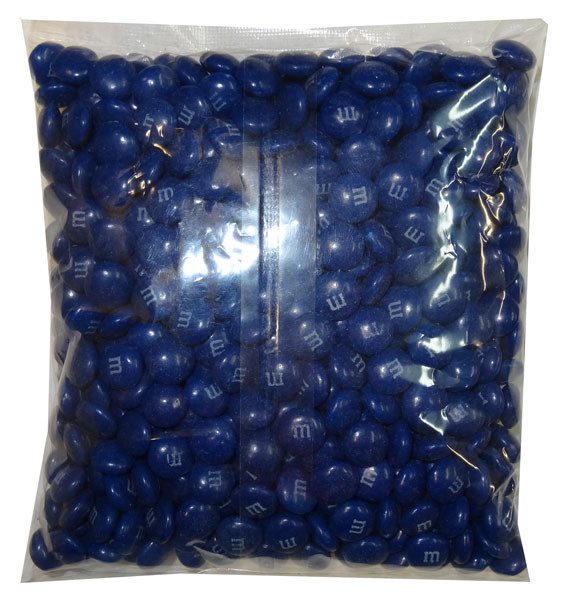Single Colour M&M s - Dark Blue, by Mars,  and more Confectionery at The Professors Online Lolly Shop. (Image Number :8245)