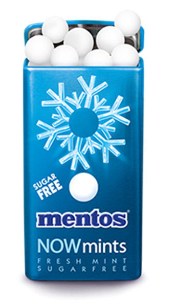 Mentos Now Mints - Sugar Free - Fresh Mint, by Perfetti Van Melle,  and more Confectionery at The Professors Online Lolly Shop. (Image Number :7035)