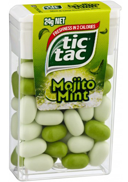 Tic Tac - Mojito Mint, by Ferrero,  and more Confectionery at The Professors Online Lolly Shop. (Image Number :7053)