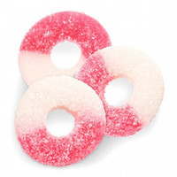 Gummi Watermelon Rings, by Albanese Confectionery/Other,  and more Confectionery at The Professors Online Lolly Shop. (Image Number :7305)