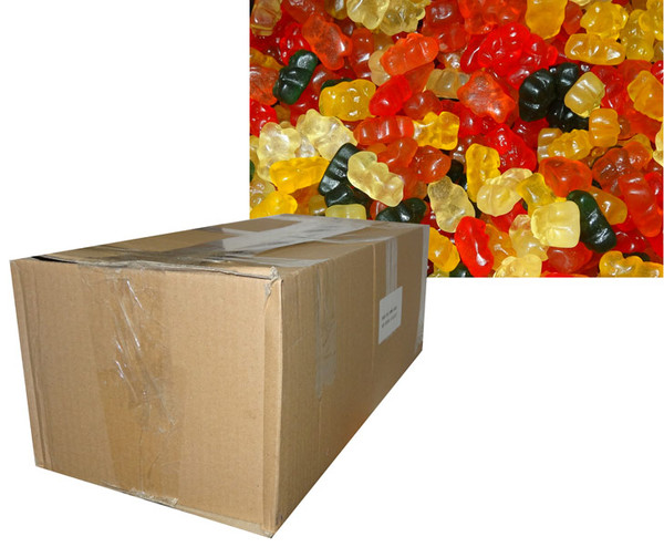 Sugar Free Gummy Bears, by Double D Confectionery,  and more Confectionery at The Professors Online Lolly Shop. (Image Number :7218)