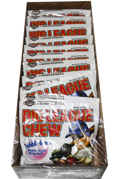 Big League Chew - Original and more Confectionery at The Professors Online Lolly Shop. (Image Number :7202)