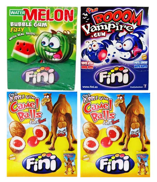 PROMO - Fini Bubblegum Pack Special, by Fini,  and more Confectionery at The Professors Online Lolly Shop. (Image Number :7189)
